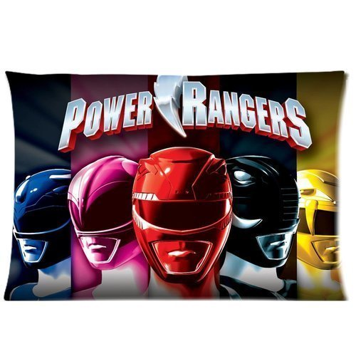 Rectangle Pillowcase 20 by 30 Personalized Pattern Printed (Power Ranger Body)