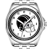Personalisierte Herrenuhr Mode wasserdicht Uhr Armbanduhr Diamant 545. Fu?Ball-Sport