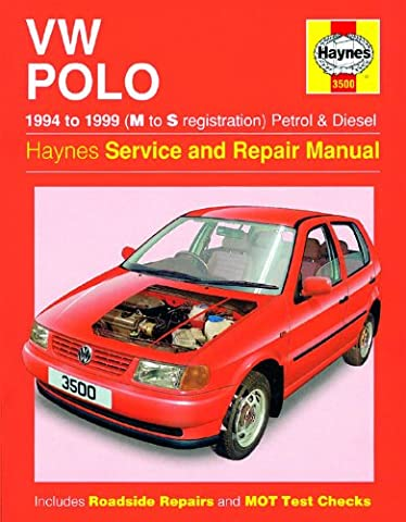 VOLKSWAGEN POLO 1.010501.31.41.6Benzin & 1,71.9D Diesel 1994–1999Haynes Handbuch