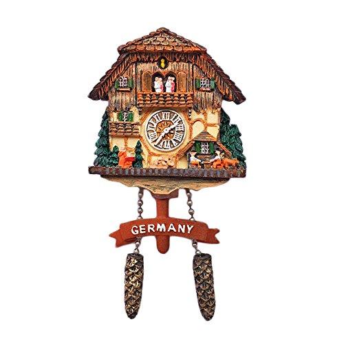 Kuckucksuhr Deutschland 3D Kühlschrank Magnet Reise Aufkleber Souvenirs, Home & Küche Dekoration Deutschland Kühlschrank Magnet Aus China