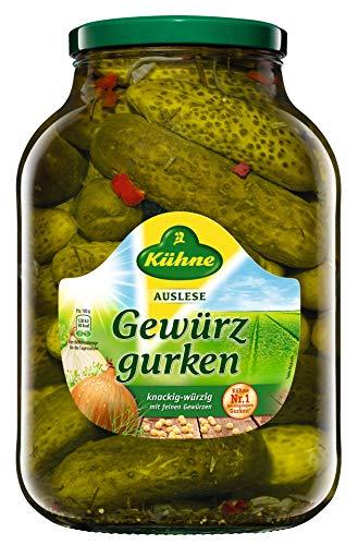 Kühne - Gewürzgurken - 2450g/1380g