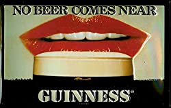 Guinness No Beer Comes Near Wall Art