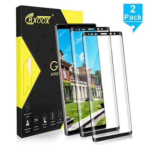 2 Pack Cristal Templado para Samsung Galaxy Note 9