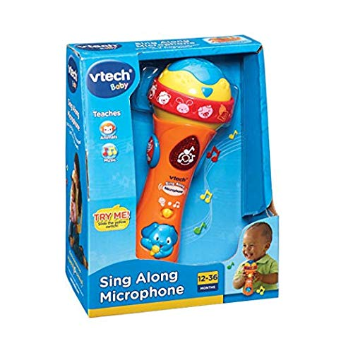 [UK-Import]VTech Sing A Long Music Microphone