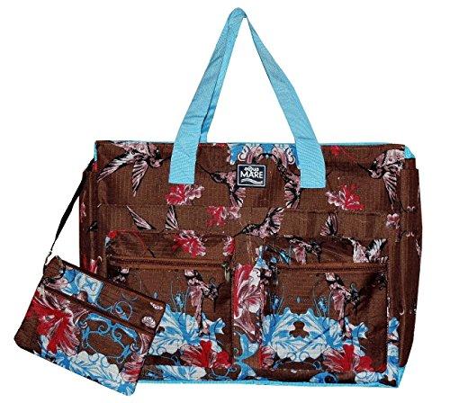 0cd3d17e0c26 Borsa Mare Donna GRANDE CON TASCHE AQUA DI MARE borsa Maxi da ...