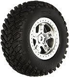 Traxxas 5973SCT Off-Road-Reifen serienmäßig auf Satin Chrom, beadlock-style Rollen