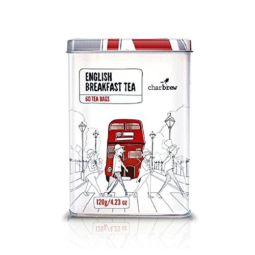 Breakfast English Tee-set (Charbrew's englisches Frühstück Tee Kanister - Limited Edition Sammler Artikel 60 Englisch Frühstüc)
