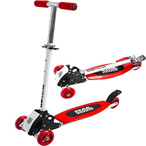 Kickboard-Scooter Rot - Roller Kinderroller Tretroller Kinderscooter