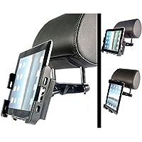 UltimateAddons–Supporto per poggiatesta sedile posteriore incluso Strong super slim Apple iPad Holder