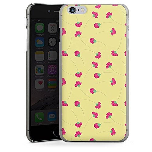 Apple iPhone X Silikon Hülle Case Schutzhülle Flower Muster Rosen Hard Case anthrazit-klar