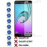 Todotumovil - Protector de Pantalla Cristal Templado Vidrio para Samsung Galaxy A5 2016 A510F