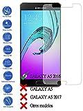 Todotumovil Protector de Pantalla Cristal Templado Vidrio para Samsung Galaxy A5 2016 A510F