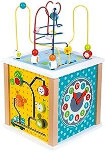 Lelin Toys-31612-Cubo de Actividades-Granja