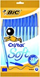 BIC Soft - Estuche de 10 bolígrafos, color azul