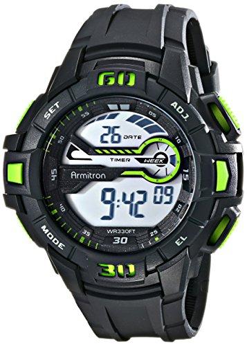 armitron-sport-men-s-40-8338grn-grun-akzentuierten-digital-chronograph-schwarz-harz-gurt-uhr
