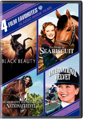4 Film Favorites: Classic Horse Films (Black Beauty, National Velvet, International Velvet, The Story of Seabiscuit) (4 Film Favorites Dvd)