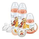 NUK Winnie the Pooh Flasche und Cup Set (0–18M)