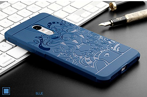 half off 65978 47933 Case for Xiaomi Redmi Note 4 , Fairbunny Branded Soft Silicon Rubber Back  Cover Case For Xiaomi Redmi Note 4 by Online Bunny -BLUE