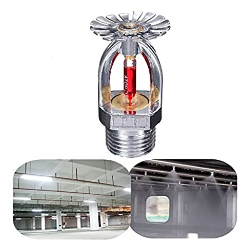 PhilMat 1/2 Inch 68℃ Pendent Fire Sprinkler Head For Fire Extinguishing System Protection