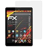 atFolix Folie für Medion LIFETAB P9701 (MD90239) Displayschutzfolie - 2 x FX-Antireflex-HD hochauflösende entspiegelnde Schutzfolie