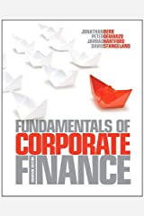 Fundamentals of Corporate Finance, Canadian Edition Plus NEW MyFinanceLab with Pearson eText -- Access Card Package by Jonathan Berk (January 20,2012) Paperback