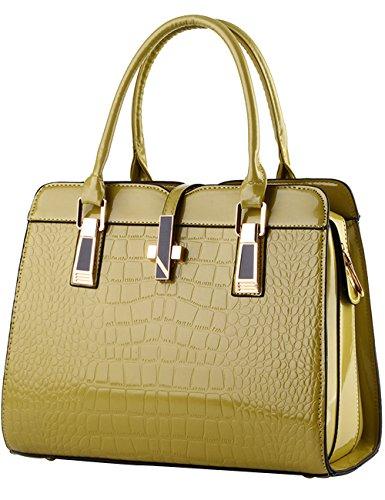 e62f4556d8022 Menschwear Damen Handtasche Marken Handtaschen Elegant Taschen Shopper  Reissverschluss Frauen Handtaschen Rot-wien Grün