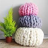 Generic 16 : knitting wool 1pcs 250g Woolen Yarn Pure Wool Super Bulky Chunky Knitting Yarn DIY Handmade knitted neckerchief blanket Crochet