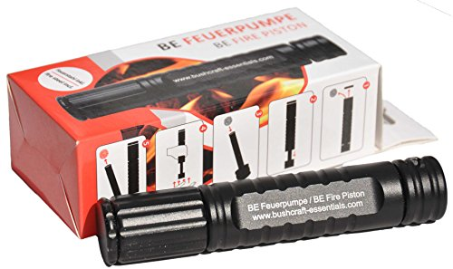 BE Feuerpumpe / BE Fire Piston - inkl. Feuerstahl & Zunder