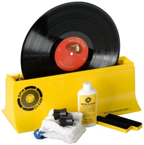 SPIN CLEAN SPIN-CLEAN - STARTER KIT RECORD WASHER SYSTEM Mk2 Frustration-Free Packaging
