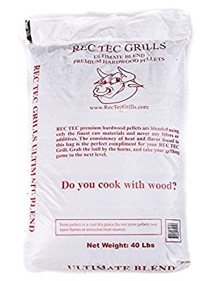RecTec Grills Ultimate Blend Pellets, 40 lb