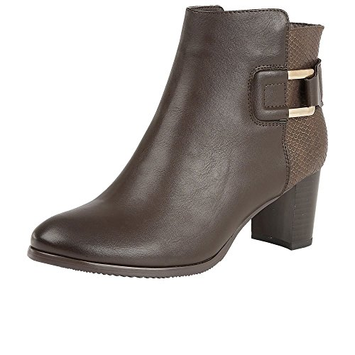 Lotus Jeckle Womens Casual Bottines brown