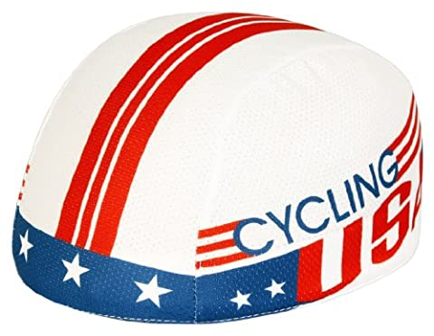 Pace Sportswear Coolmax Cycling USA Helmet Liner by Pace
