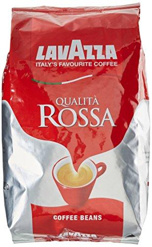 Lavazza Kaffee Qualita Rossa, ganze Bohnen, Bohnenkaffee, 6 x 1000g