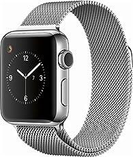 Apple Watch Series 2 42mm Smartwatch (Stainless Steel Case, Milanese Loop Band)