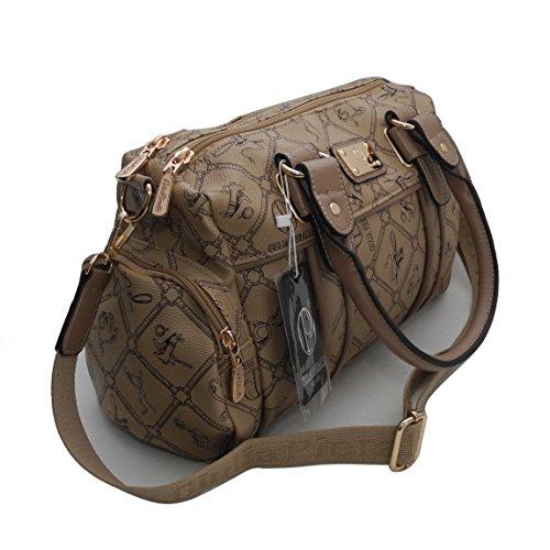 0d32777627 Borsa da donna di Giulia Pieralli – Donna Glamour Borsetta Handbag Borsa  Borsa con manici Bowling ...