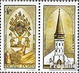 Ungarn 3921A mit Zierfeld (kompl.Ausg.) postfrisch 1987 Altar der Kirche (Briefmarken für Sammler)