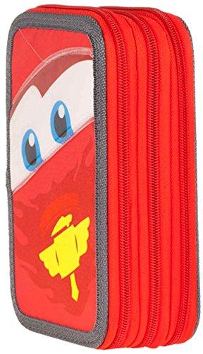 Cars – Plumier triple, 19 x 12 cm (Cerdá 2701/400)