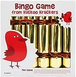 12 BINGO Game Christmas Crackers