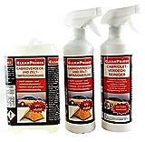 CleanPrince Cabriolet Imprägnierung & Reinigung Set 2,5 L Cabrioverdecke- und...