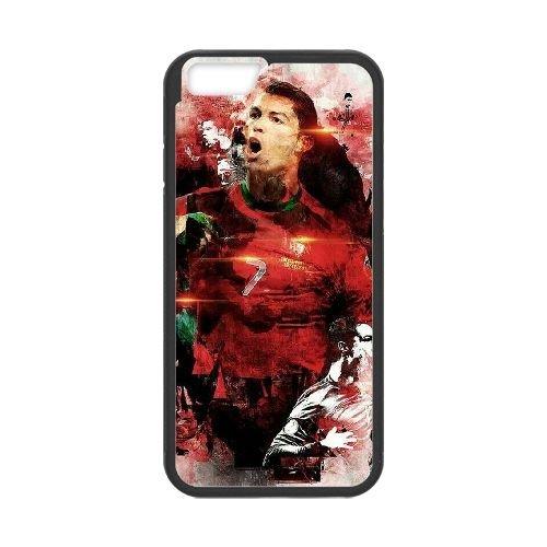 Cristiano Ronaldo coque iPhone 6 Plus 5.5 Inch Housse téléphone Noir de couverture de cas coque EBDXJKNBO16319