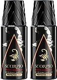 Scorpio - Déodorant pour Homme - Noir Absolu -...
