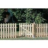 Seifil M115927 - Valla recta clasica madera 80 x 210 cm