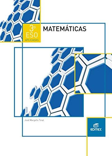 Matemáticas 3º ESO Aplicadas (LOMCE) (Secundaria) - 9788490784983 por José Margallo Toral