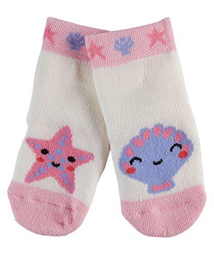 FALKE Unisex Baby Socken Seastar & Shell, Mehrfarbig (Offwhite 2040), 74-80
