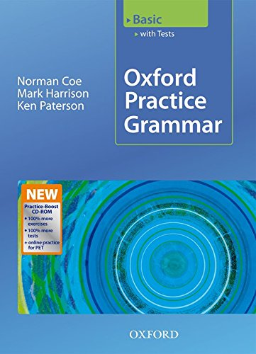 Oxford Practice Grammar Basic with Answers + Practice-Boost CD-ROM: With Key Practice-coost CD-ROM Pack Basic level