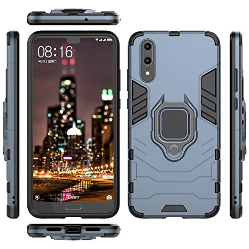 Forhouse Slim Fit Cellphone Case Huawei P20 Hülle Shock Absorption Girls Defender Drop Protection Cover Bumper Hülle for Huawei P20 - Grey