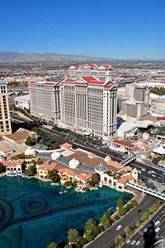 Foto ein 30,5x 45,7cm Fotodruck Caesars Palace Hotel und Casino Las Vegas Nevada United Staaten von Amerika Hochformat Foto Farbe Bild Fine Art Print. Fotografie von Andy Evans Fotos -