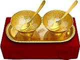 Jaipur Ace Metal Snack Bowls, 5-Pieces, ...