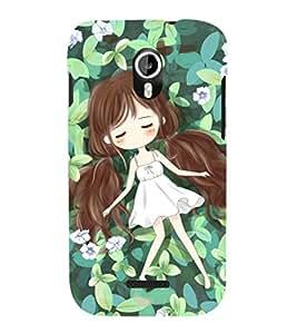 EPICCASE leaf angel Mobile Back Case Cover For Micromax Canvas Magnus A117 (Designer Case)