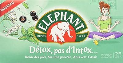 Elephant Infusion detox pas d'Intox 25 Sachets 40 g